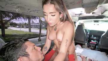 Bailey Base: Anal on The Bus